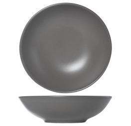 assiette creuse dark grey  0.20 cts hors tva