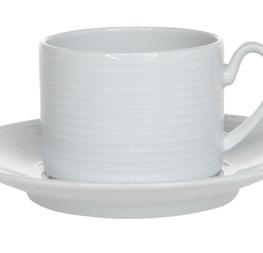 tasses et sous-tasses à café 0.25 cts hors tva
