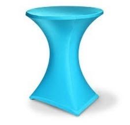 housse mange-debout turquoise stretch 7€ htva