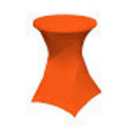 housse mange-debout stretch orange 8€ htva