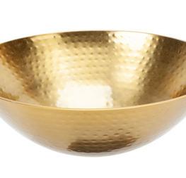 coupe métal doré 27cm/10cm  4€ hors tva.