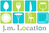 J.M. Location - Location de vaisselle, de matériel de réception et nappage de goût