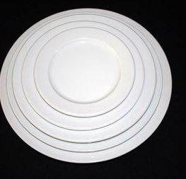 assiette ronde modèle Berlin à partir de 0.18cts/pièce hors tva
