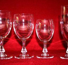 verres modèle