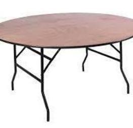 table ronde 152cm  5 € /pièce hors tva