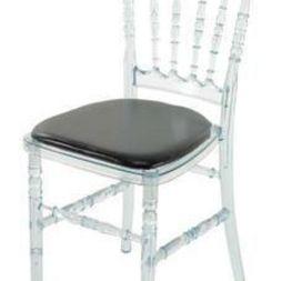 chaise Napoléon transparente 6€ hors tva