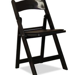 chaise pliante résine noir assisse simili 2 € hors tva