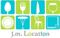 JM Location - Location de vaisselle, de matériel de réception et nappage de goût